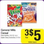 Get 3 Boxes of Cheerios for $4