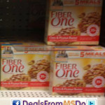 Fiber One Bars $0.60 a Box at Dollar Tree
