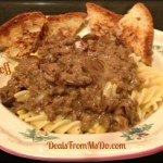 Beef Stroganoff – Simply Satisfying