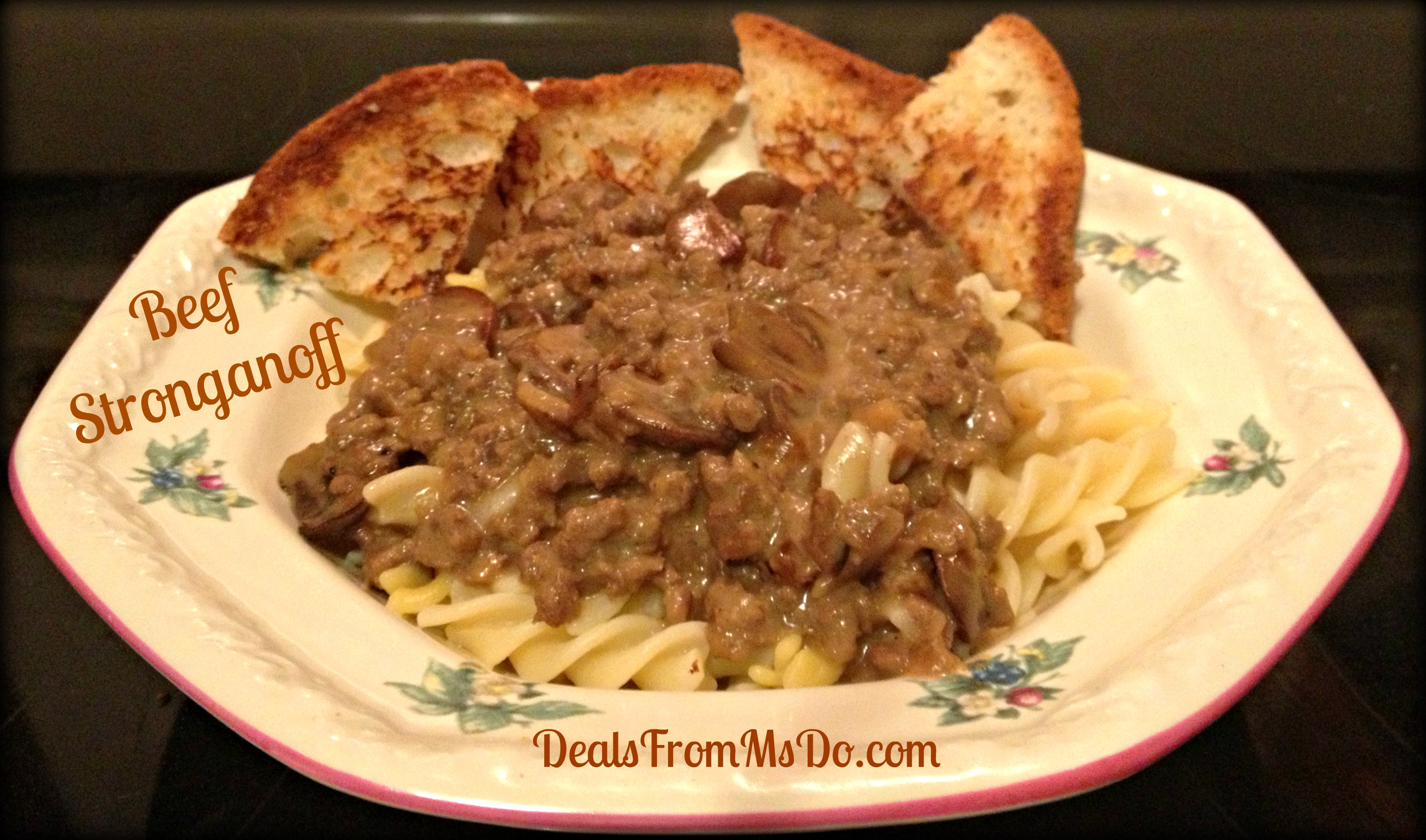 Beef Stroganoff is simply satisfying and really simple to make. No ...