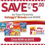 70 or More Kellogg's Family Rewards Codes
