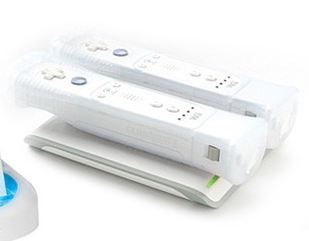 Wii 2 Dock Inductive Charging System