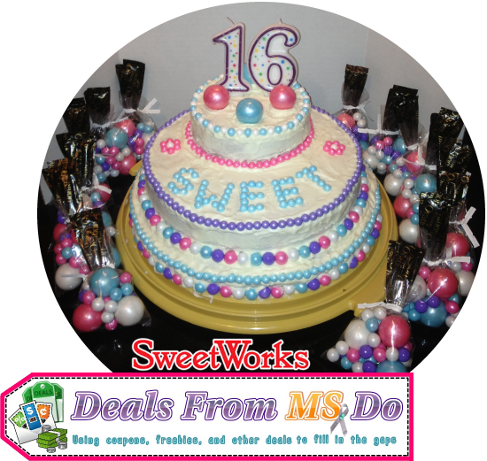 Sweet Sixteen Birthday Cake Tutorial