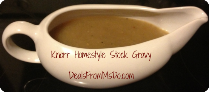 Knorr Homestyle Stock Gravy
