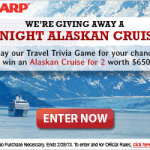 Alaskan Cruise Giveaway Worth $6500
