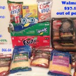 Walmart Coupon Shopping and Price-Matching