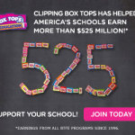 Raise Funds for Schools with Box Tops For Education
