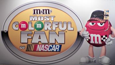 NASCAR Most Colorful Fan