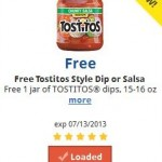 FREE Tostitos Style Dip or Salsa