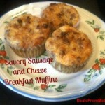 Savory Sausage & Cheese Breakfast Muffins