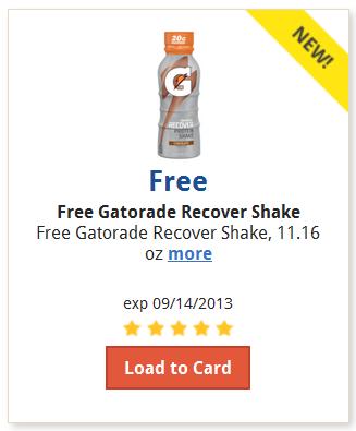 Gatorade Recover Shake