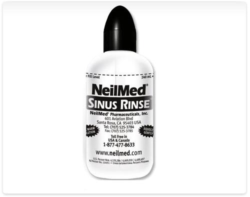 NeilMed Sinus Rinse Bottle