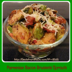 Parmesan Bacon Brussels Sprouts