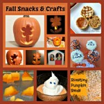 Halloween Snacks and Crafts Round Up