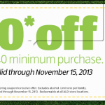 Aldi Coupon for $10 off $40 Purchase