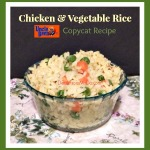 Chicken Vegetable Rice – Uncle Ben's Copycat Recipe