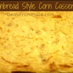 Cornbread Style Corn Casserole