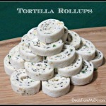Cream Cheese Tortilla Roll Ups