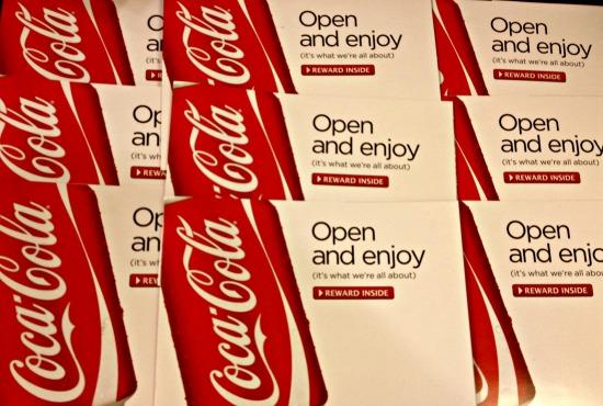 FREE MyCokeRewards 12 Packs of Soda