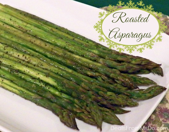 Oven Roasted Asparagus - DealsFromMsDo.com