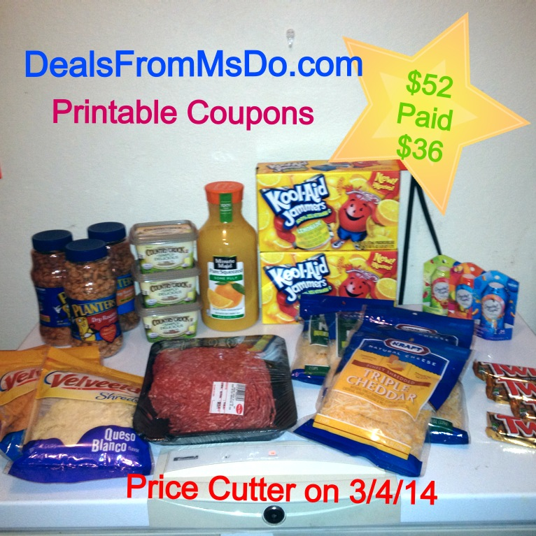 Price Cutter Double Coupons