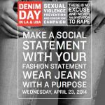 Denim Day Because Rape Victims CAN Wear Tight Jeans