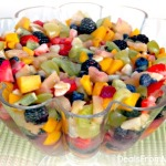 End of the Rainbow Fruit Salad Book Review & Recipe