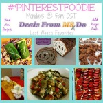 #PinterestFoodie – Weekly Recipe Linky for 6/16/14