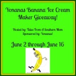 Yonanas Ice Cream Maker Giveaway