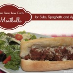 Gluten Free, Low Carb Meatballs for Subs, Spaghetti, or Appetizers