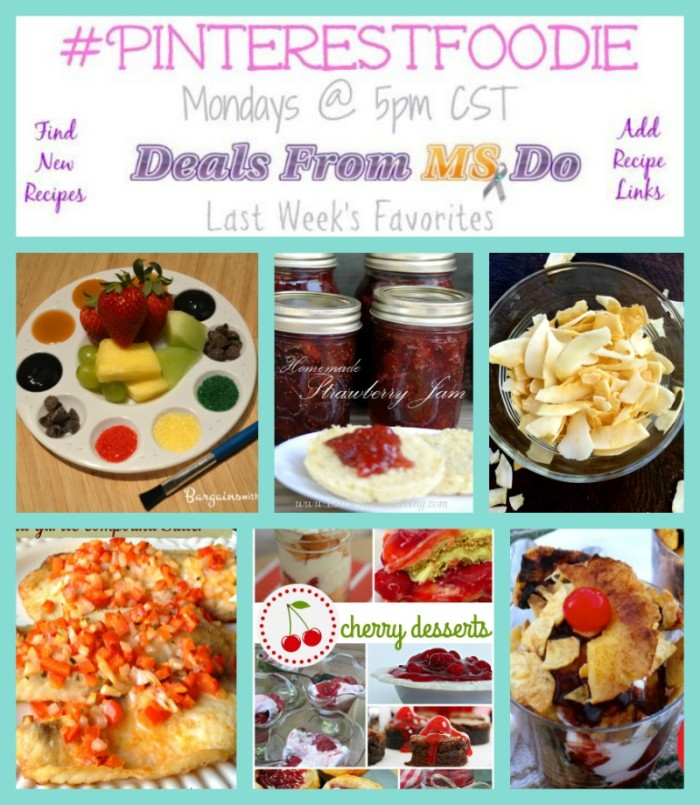 PinterestFoodie Recipe Linkup