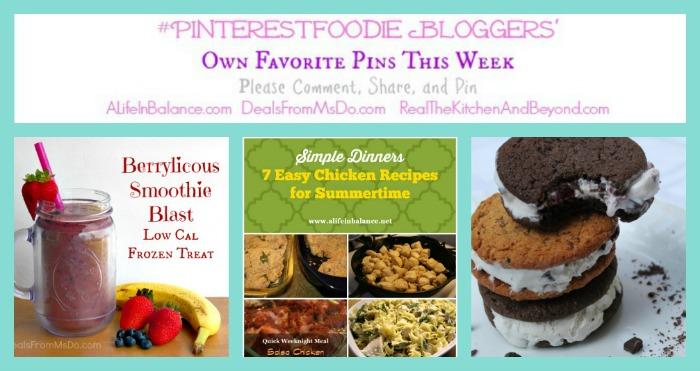 #PinterestFoodie Bloggers 7142014