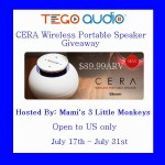 TEGO AUDIO CERA Bluetooth Wireless Speaker Giveaway