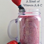 Triple Berry Smoothie – A Blast of Vitamin A & C