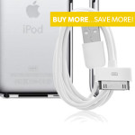 500-Pk: iPod Cable $134.99