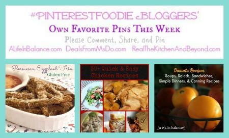 PinterestBlogger 82514 Weekly Recipe Linky