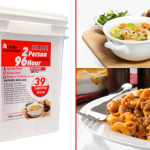 Emergency Food Supply Kit – Portable, Lightweight, and Lasts Up To 25 Years!
