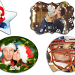 Personalized Holiday Ornaments (15 Designs!)