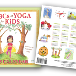 The ABCs of Yoga for Kids Calendar, Book, & Learning Cards