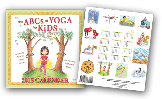 The ABCs of Yoga for Kids Calendar