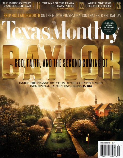 Texas Monthly is edited for the urban Texas audience and covers the state's politics, sports, business, culture, and changing lifestyles. It contains lengthy feature articles, reviews and interviews it presents critical analysis of popular books, movies, and plays, including regular entertainment throughout the state.