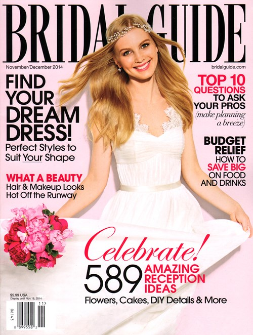 Bridal Guide is a magazine for the contemporary bride-to-be focusing on current trends in fashion, beauty, home design, and honeymoon travel. Complete detailed information on wedding planning and social issues that affect the bride and groom are regular features.