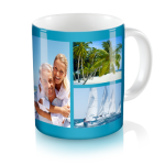 Personalized Collage Mug