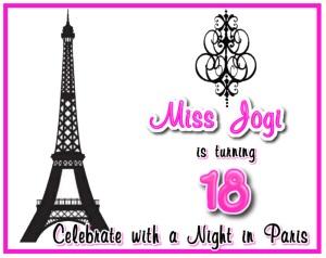 18th Paris Eiffel Tower Birthday