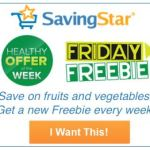 Morton Salt SavingStar Freebie Friday thru Sunday