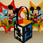 Mickey Mouse Paper Lanterns for Silhouette Machines