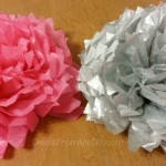 Decorate with Tissue Paper Flowers