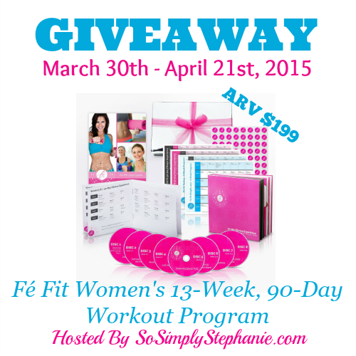 Fé Fit Women's Workout Giveaway