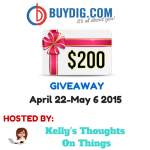 $200 BuyDig.com Giveaway for Mother's Day