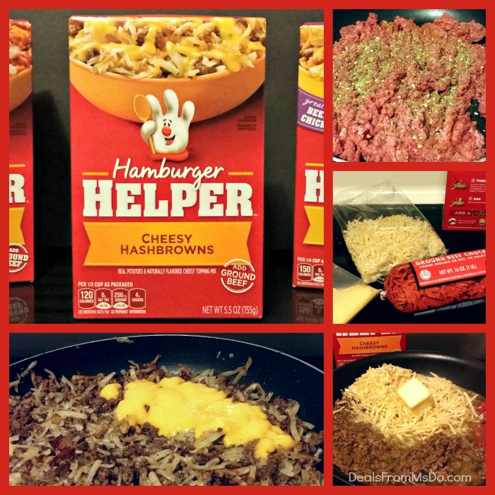 Hamburger Helper Collage
